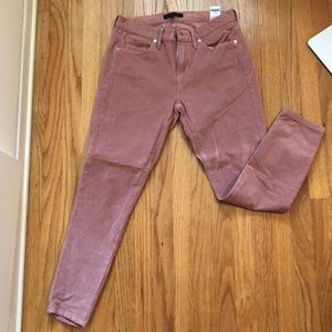 Pink ankle length cords